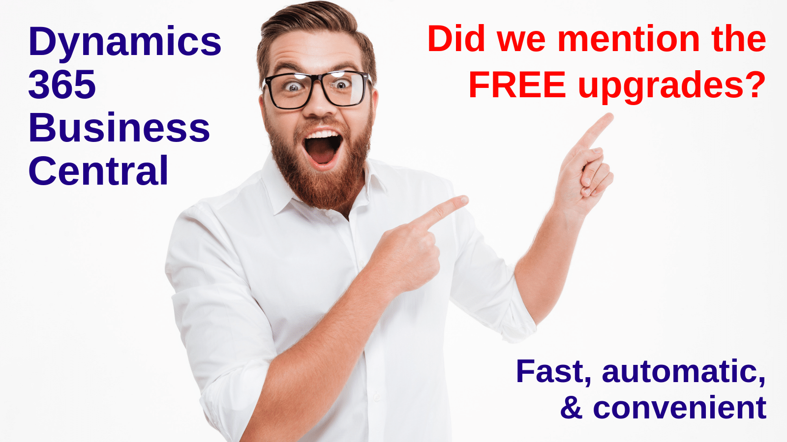 Are you ready for free upgrades that are fast, automatic, and convenient?