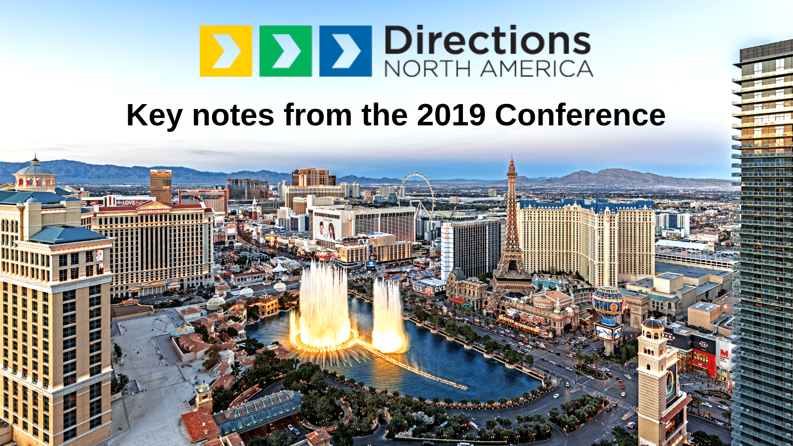 Directions North America: Key notes from the 2019 Conference