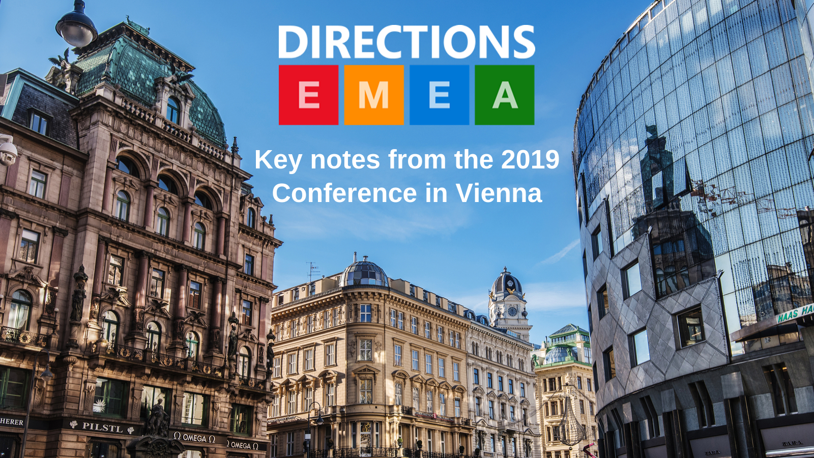 Key notes from the Directions EMEA conference 2019
