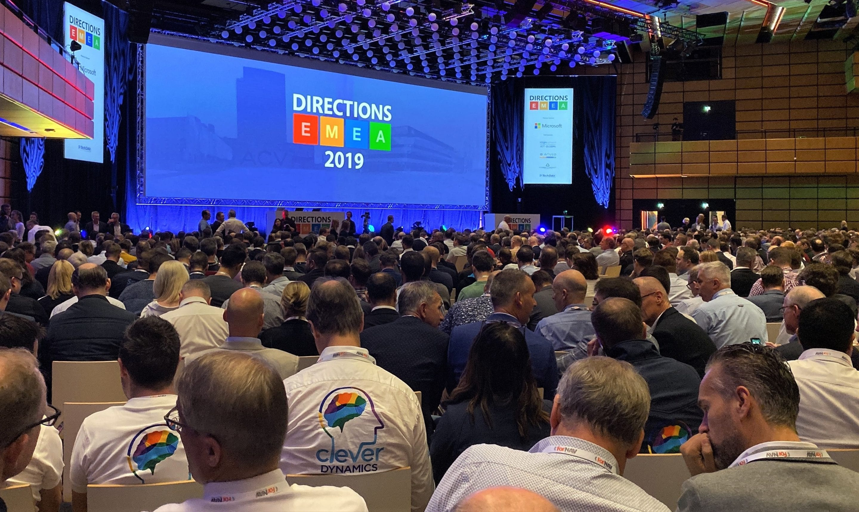 The Microsoft Directions EMEA 2019 conference in Vienna