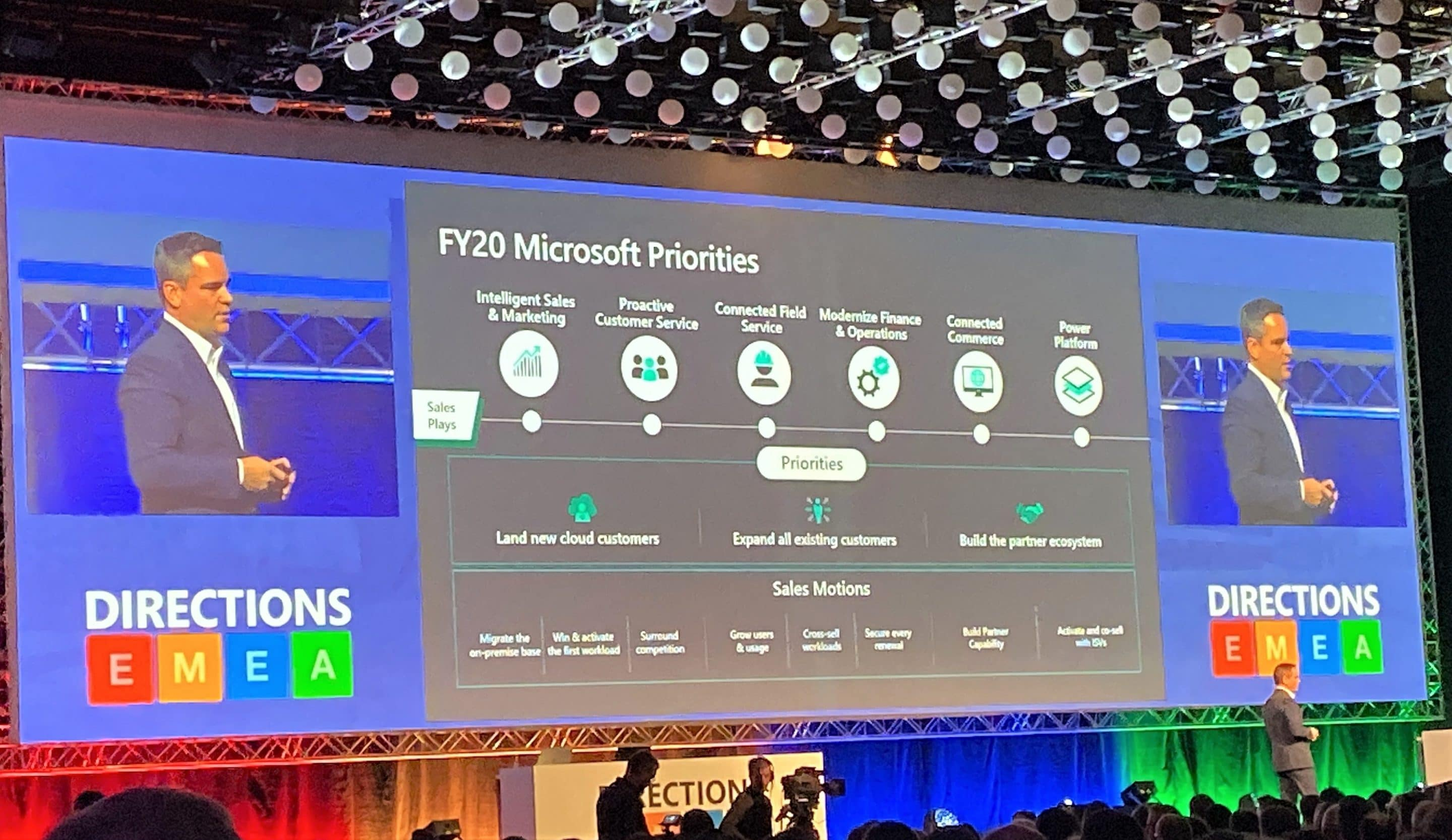 Running through practical improvements to Business Central at Directions EMEA 2019 in Vienna