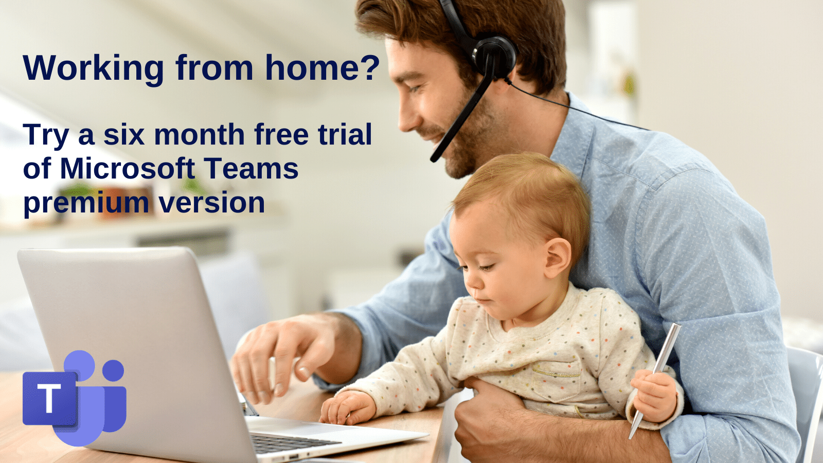 Working from home? Try a six month free trial of Microsoft Teams premium version now.