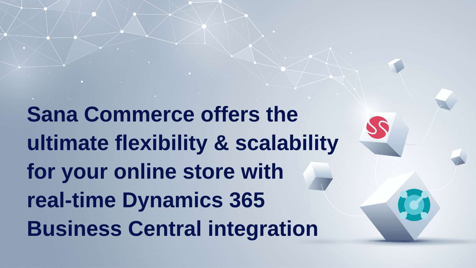 Sana Commerce offers the ultimate flexibility and scalability for your online store with real-time Dynamics 365 Business Central integration.