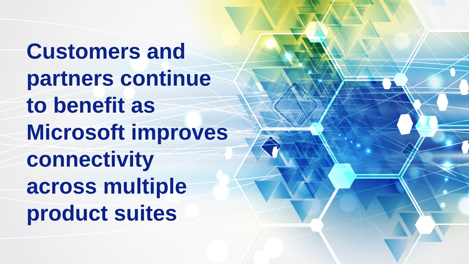 Business Central Fall 2020 update: Customers and partners continue to benefit as Microsoft improves connectivity across multiple product suites.