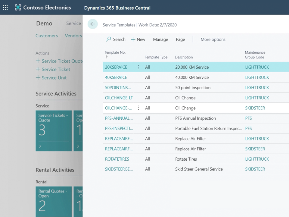 ODT Service for Microsoft Dynamics 365 Business Central